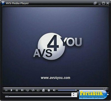 AVS Media Player 4.1.9.95 Portable by BALISTA