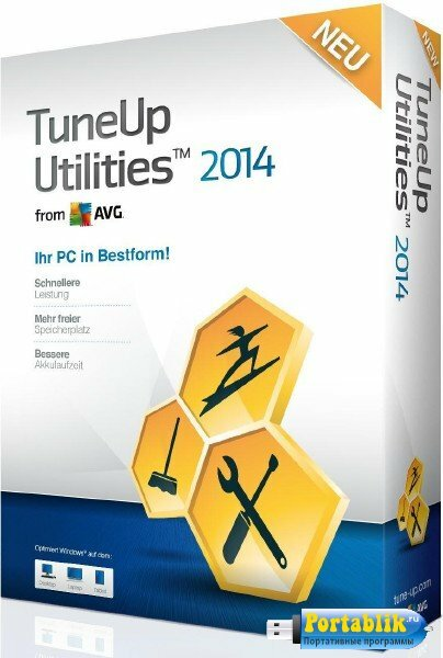 TuneUp Utilities 2014 14.0.1000.110 Final Rus Portable by Valx