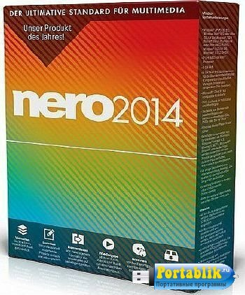 Nero Burning Rom 2014 15.0.19000 Portable - ������ ����� �������-������