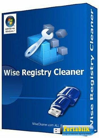 Wise Registry Cleaner 9.04.582 Beta Portable by PortableApps - безопасная очистка системного реестра
