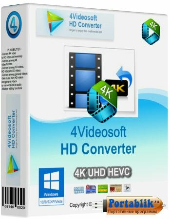 4Videosoft HD Converter 5.3.18 (RUS | ML) + Portable