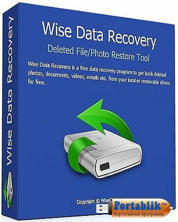 Wise Data Recovery 3.84.201 ML Portable by PortableApps - восстановление случайно удалённых файлов