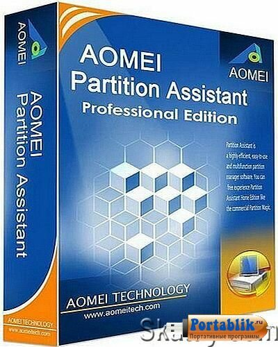 AOMEI Partition Assistant Standard Edition 6.3.0 Portable – продвинутый менеджер жесткого диска